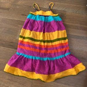 Gap colorful stripe dress